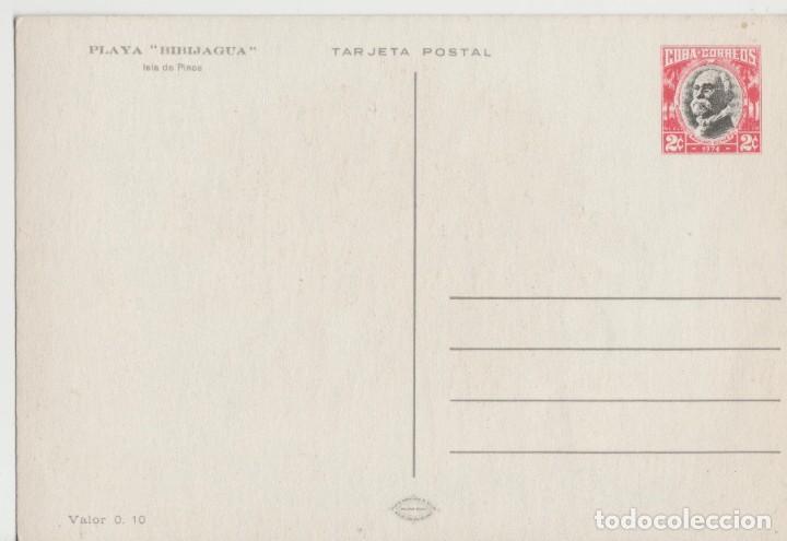 Postales: LOTE C- POSTAL CUBA PREFRANQUEADA PLAYA BIBIJAGUA - Foto 2 - 198611316