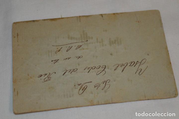 Postales: Antigua POSTAL / Principios 1900 / BORDADAS EN HILO - Traje típico - Circulada - Original ¡Mira! - Foto 3 - 198611652