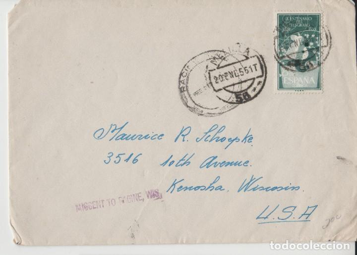 LOTE C- SOBRE MATA SELLOS MELILLA 1956 (Postales - Postales Temáticas - Especiales)