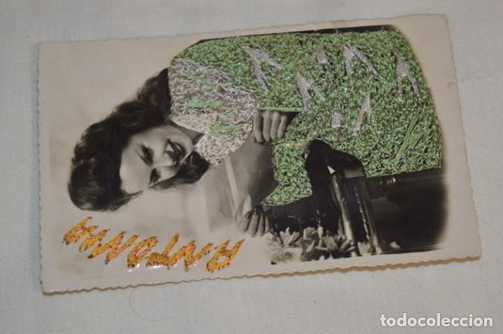 Postales: 3 Antiguas POSTALES / / BORDADAS EN HILO - Trajes típicos - CIRCULADAS - Originales ¡Mira! - Foto 4 - 198612857