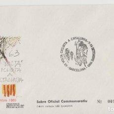 Postales: LOTE C- SOBRE MATA SELLOS VUELTA CICLISTA. Lote 228425770