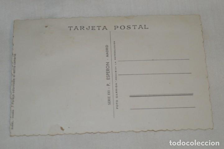 Postales: Antigua / BORDADA EN HILO y purpurina - Trajes típicos BURGOS - SIN CIRCULAR - Original ¡Mira! - Foto 3 - 198634936