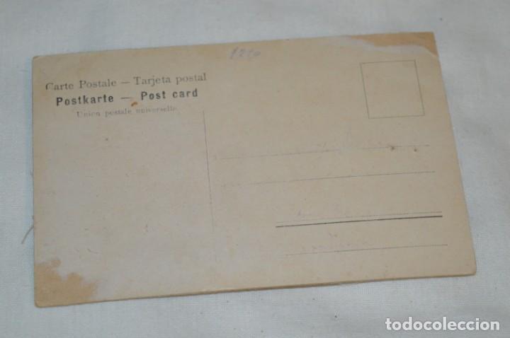 Postales: Antigua postal / De CELULOIDE y desplegable - Original ¡Mira todas las fotografías, muy rara! - Foto 7 - 198641380