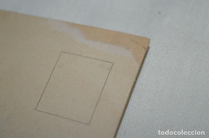 Postales: Antigua postal / De CELULOIDE y desplegable - Original ¡Mira todas las fotografías, muy rara! - Foto 8 - 198641380