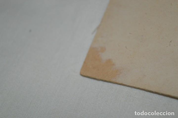 Postales: Antigua postal / De CELULOIDE y desplegable - Original ¡Mira todas las fotografías, muy rara! - Foto 9 - 198641380