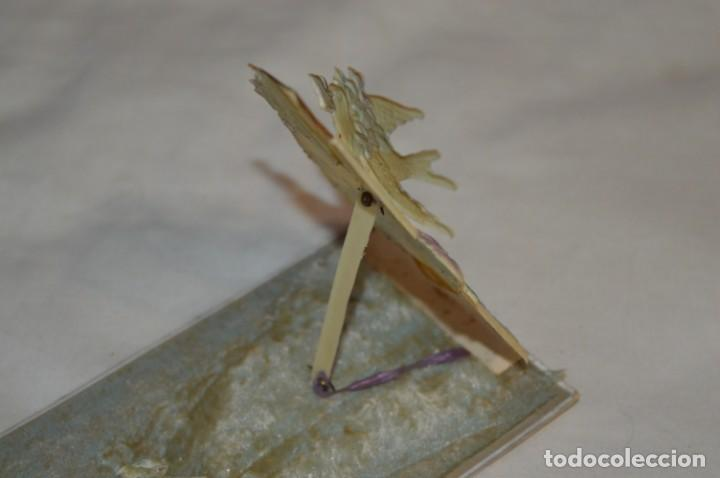 Postales: Antigua postal / De CELULOIDE y desplegable - Original ¡Mira todas las fotografías, muy rara! - Foto 6 - 198643638