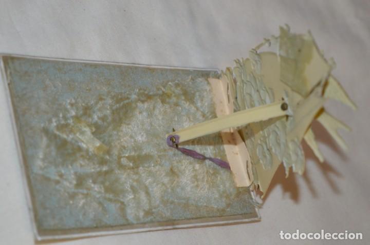 Postales: Antigua postal / De CELULOIDE y desplegable - Original ¡Mira todas las fotografías, muy rara! - Foto 7 - 198643638