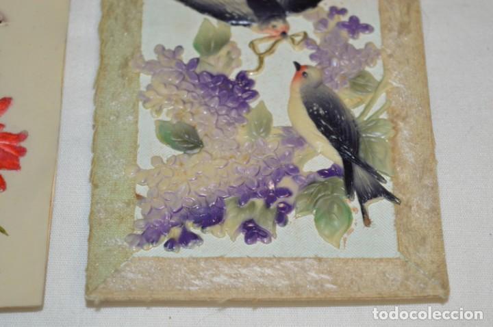 Postales: 2 Antiguas postales / De CELULOIDE - Originales ¡Mira todas las fotografías, muy raras! - Foto 2 - 198646057
