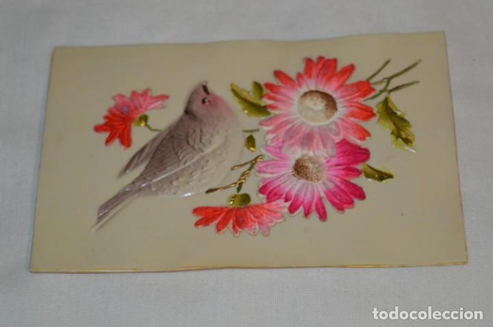 Postales: 2 Antiguas postales / De CELULOIDE - Originales ¡Mira todas las fotografías, muy raras! - Foto 5 - 198646057