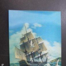 Postales: BARCO EN ALTA MAR POSTAL 3D 3 DIMENSIONES. Lote 199272611