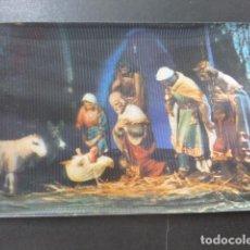 Postales: ADORACION DE LOS REYES MAGOS POSTAL 3D 3 DIMENSIONES. Lote 199272696