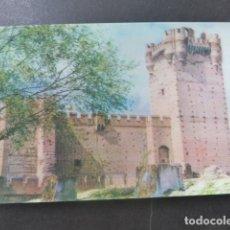 Postales: MEDINA DEL CAMPO VALLADOLID CASTILLO DE LA MOTA POSTAL 3D 3 DIMENSIONES. Lote 199272832