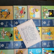 Postales: A LOTES LOTERÍA NACIONAL 8 LOTES DE 12 POSTALES. Lote 199287958