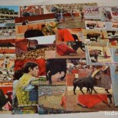 Postales: SIGLO PASADO - EN COLOR - 25 TARJETAS POSTALES / ORIGINALES / TOREOS DE LA ÉPOCA Y VARIADOS ¡MIRA!. Lote 199669473
