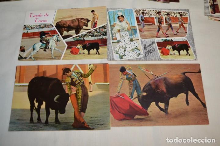 Postales: Siglo pasado - En COLOR - 25 TARJETAS POSTALES / Originales / Toreos de la época y variados ¡MIRA! - Foto 5 - 199669473
