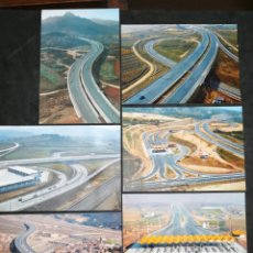 Postales: AUTOPISTA DEL MEDITERRÁNEO, LOTE DE 6 POSTALES. NUEVAS. Lote 199762662