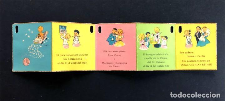 TIRA DE ILUSTRACIONES ( TIRA REGALO BAUTISMO AÑO 1963 ) ILUSTRADOR - BUSQUETS (Postales - Postales Temáticas - Especiales)