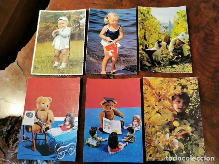 6 POSTALES INFANTILES AÑOS 60 (Postales - Postales Temáticas - Especiales)