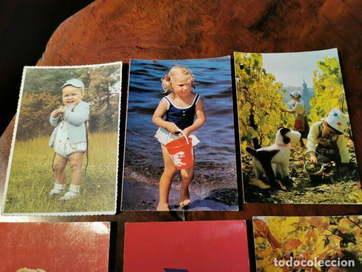 Postales: 6 POSTALES INFANTILES AÑOS 60 - Foto 2 - 202573112