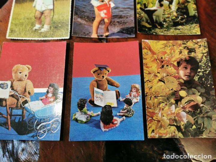 Postales: 6 POSTALES INFANTILES AÑOS 60 - Foto 3 - 202573112