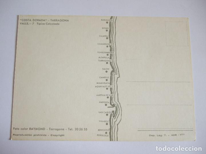 Postales: POSTAL TIPICA CALÇOTADA - TARRAGONA VALLS - 1965 - RAYMOND 7 - SIN CIRCULAR - Foto 2 - 202763500