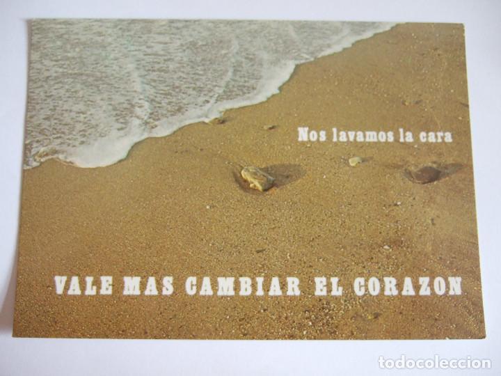 TARJETA TAMAÑO POSTAL - SERIE AÑO LITURGICO Nº 3 CUARESMA (Postales - Postales Temáticas - Especiales)