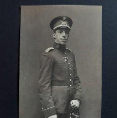 Cartes Postales: POSTAL ALFONSO XIII UNIFORME MILITAR - NO CIRCULADA - FOTO FRANZEN. Lote 203618201