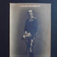Cartes Postales: POSTAL ALFONSO XIII UNIFORME MILITAR - NO CIRCULADA. Lote 203619448