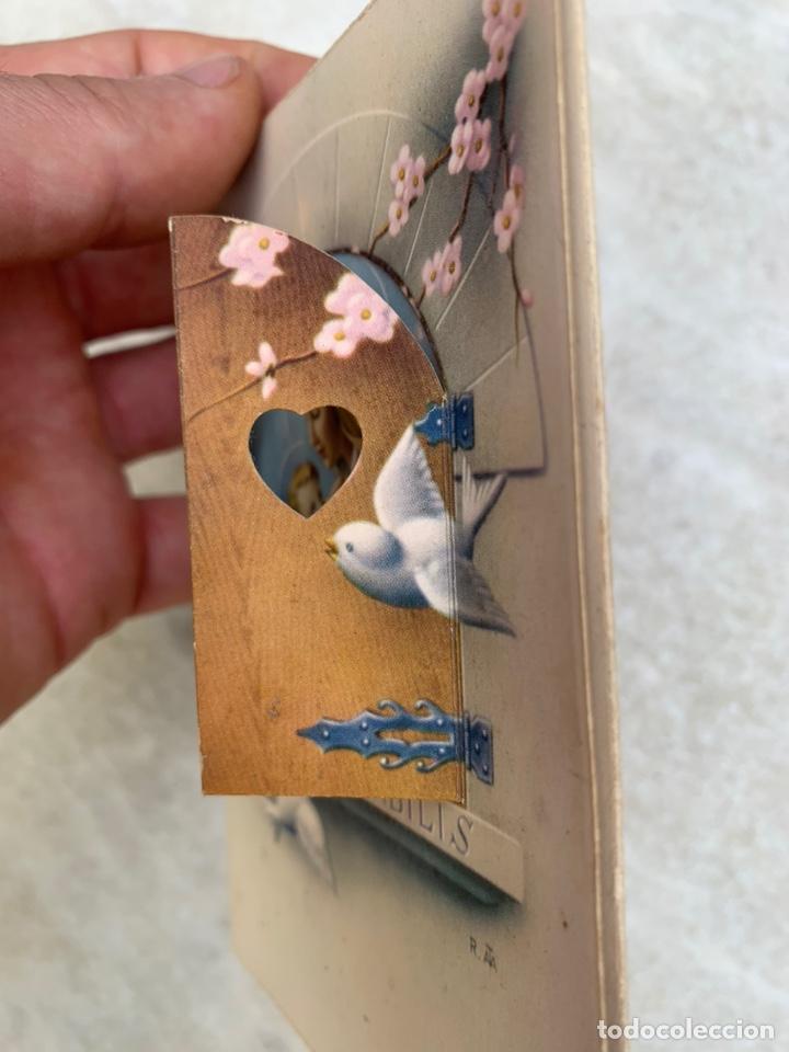 Postales: Tarjeta Postal objeto tridimensional felicitación - Foto 3 - 205354518