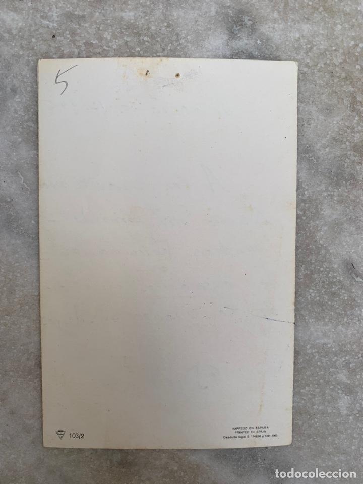 Postales: Tarjeta Postal objeto felicitación desplegable Virgen con el niño Jesús - Foto 4 - 205355107