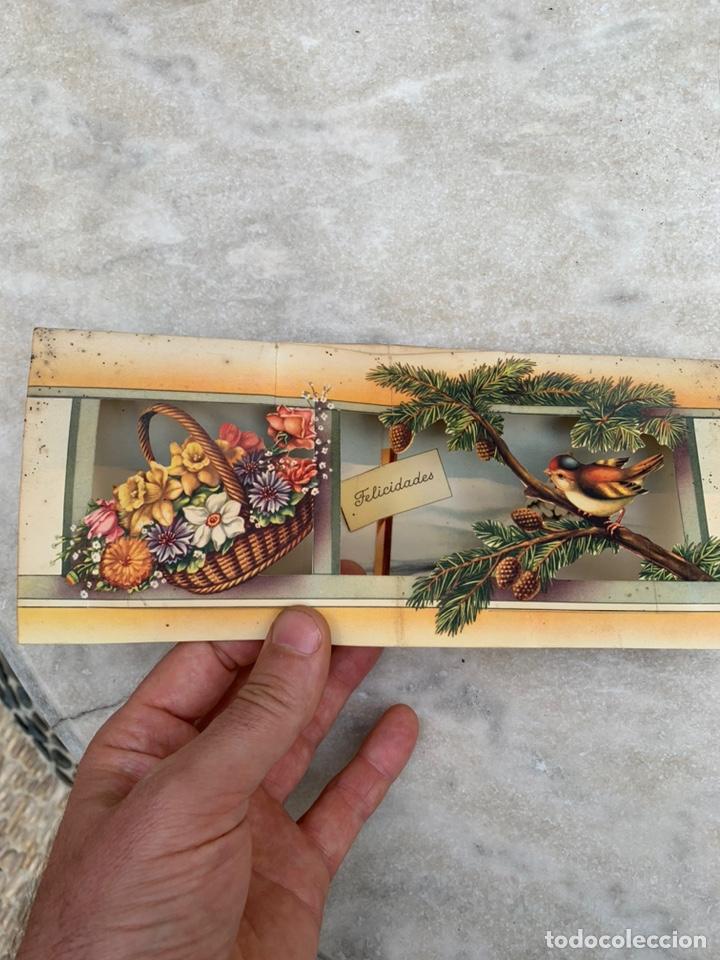 Postales: Tarjeta Postal objeto tridimensional felicitación - Foto 2 - 205355953