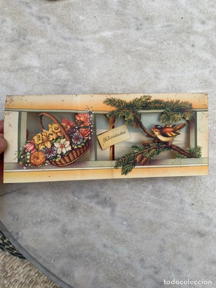 Postales: Tarjeta Postal objeto tridimensional felicitación - Foto 3 - 205355953