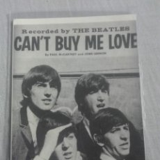 Postales: POSTAL DE BEATLES CAN'T BUY ME LOVE. Lote 205826636
