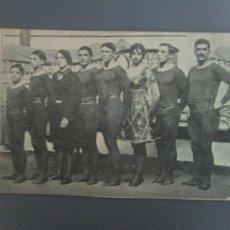 Postales: ANTIGUA POSTAL - FAMILIA FREDIANI, ACRÓBATAS A CABALLO - CIRCO. Lote 206241280