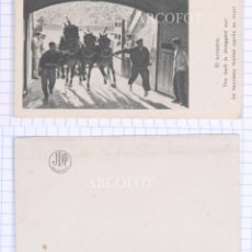 Postales: ANTIGUA MINI POSTAL - EL ARRASTRE - JDP VALENCIA - LA DE LAS FOTOS. Lote 206378470