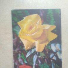 Postales: POSTAL 3 D FLORES. Lote 206461261