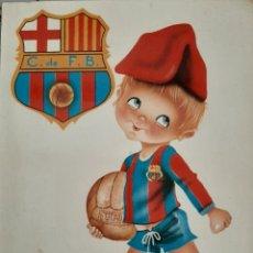 Postales: POSTAL FÚTBOL CLUB BARCELONA BARÇA. Lote 210403696