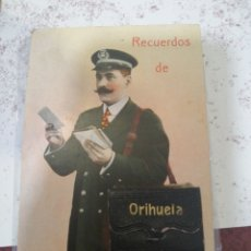 Postales: ORIHUELA POSTAL CARTERO DESPLEGABLE, TAL FOTOS. Lote 211428896