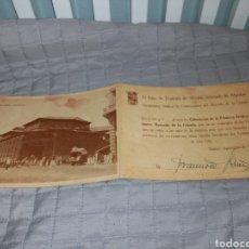 Postales: MERCADO DE LA CEBADA. COLOCACIÓN DE LA PRIMERA PIEDRA DEL NUEVO. SEPTIEMBRE 1959. Lote 211450715