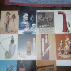 Postales: LOTE DE 11 POSTALES, MUSEO DE LA PELUQUERÍA Y SUS INSTRUMENTOS, IMPRENSO EN ALEMANIA, BY GAVEL. Lote 214129523
