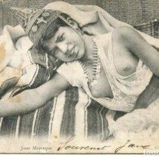 Postales: DESNUDO JOVEN ÁRABE- AÑO 1904. Lote 215973067