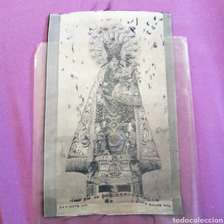 Postales: Virgen de los Desamparados es una advocación de la Virgen María. Es la patrona de VALENCIA en tela - Foto 2 - 217223546