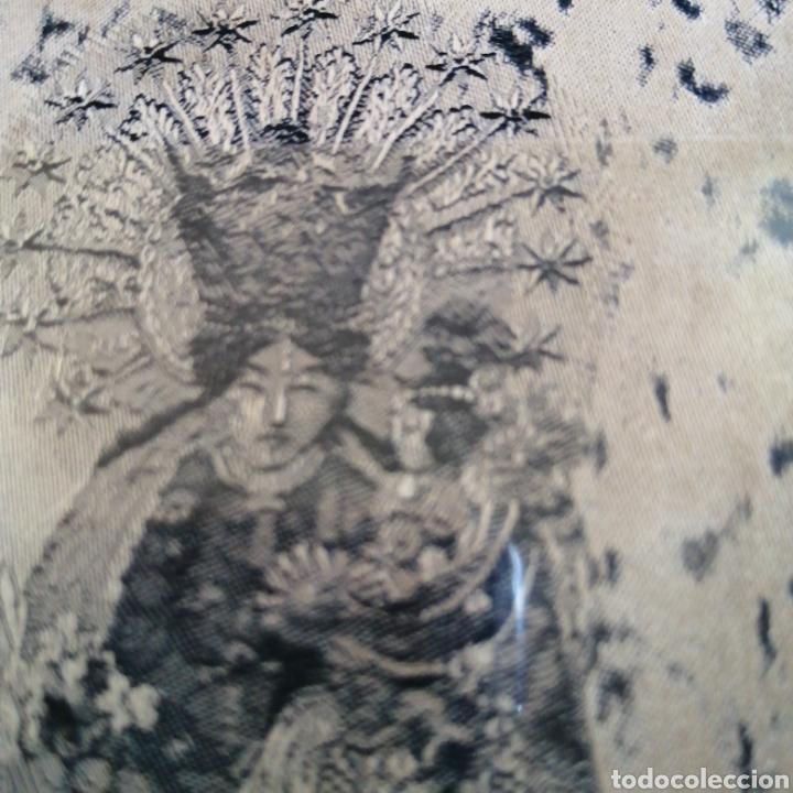 Postales: Virgen de los Desamparados es una advocación de la Virgen María. Es la patrona de VALENCIA en tela - Foto 3 - 217223546
