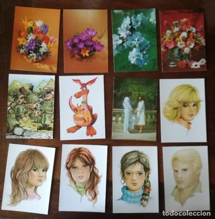 Postales: LOTE MAS DE 80 POSTALES NUEVAS VARIADAS VED FOTOGRAFÍAS - Foto 2 - 220266562
