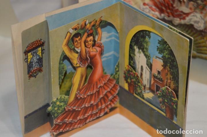 Postales: De colección, vintage, antiguos / Lote 10 Felicitaciones / Dioramas - ¡Mira, preciosos! - Foto 6 - 220477513