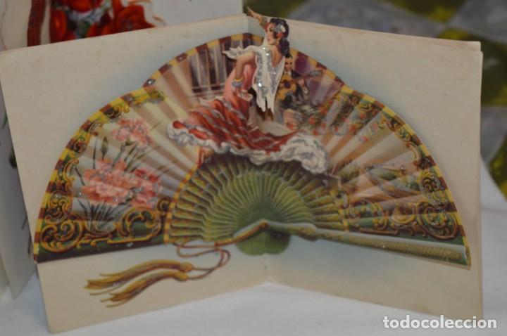 Postales: De colección, vintage, antiguos / Lote 10 Felicitaciones / Dioramas - ¡Mira, preciosos! - Foto 7 - 220477513