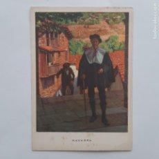 Postales: ANTIGUA POSTAL LAS REGIONES ESPAÑOLAS NAVARRA ALCALDE RONCAL P219. Lote 220947162