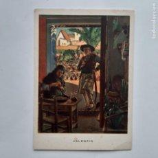 Postales: ANTIGUA POSTAL LAS REGIONES ESPAÑOLAS VALENCIA LA COMIDA P222. Lote 220947371