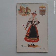 Postales: ANTIGUA POSTAL TRAJES TIPICOS SEGOVIA P228. Lote 220948055