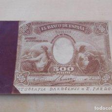 Postales: POSTAL ANTIGUA BILLETE DE 500 PESETAS AÑO 1907 DAROGENSE E. PARDOS. Lote 221147431